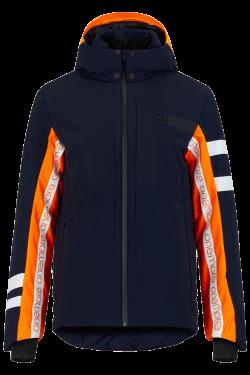 Giacca da sci Arancione e Blu