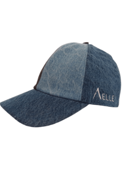 Cappello Dad Cap 1994 In Denim Indaco Mixed Washed