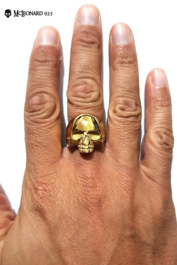 Anello Skull Oro