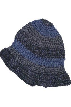 Cappello Gino Cotone Blu