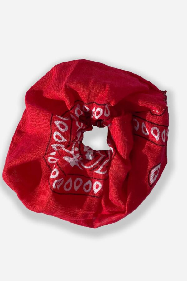 Scrunchie Bandana Rosso