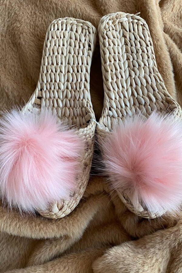 Eco Slippers Rosa