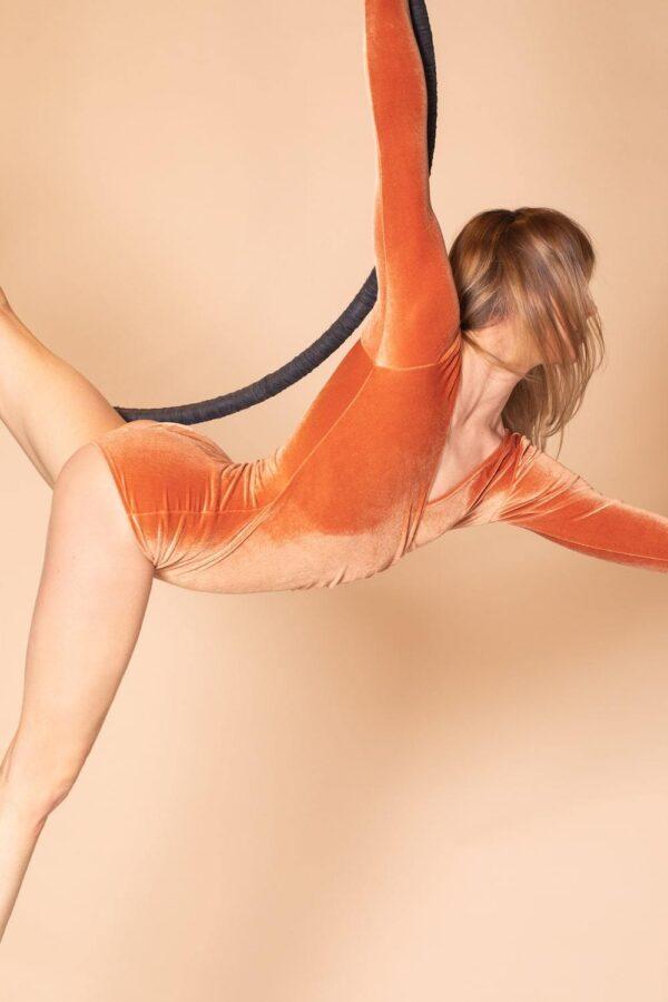 Valery Bodysuit Arancio