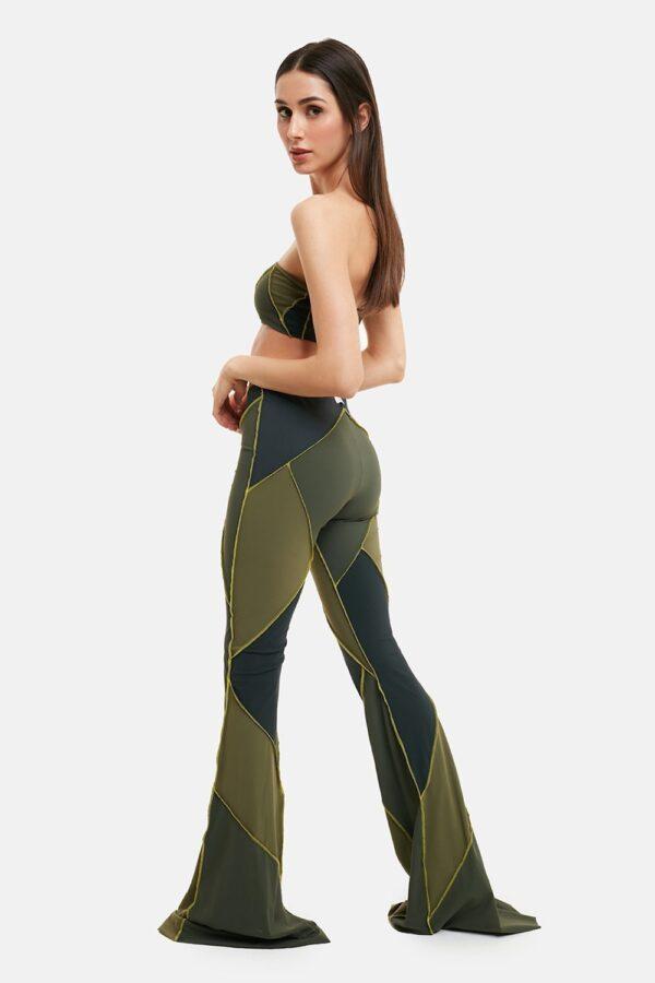 Pantalone Patch Verde