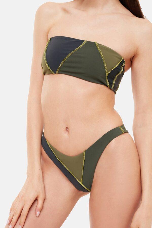 Costume Diana Bikini Verde Fascia