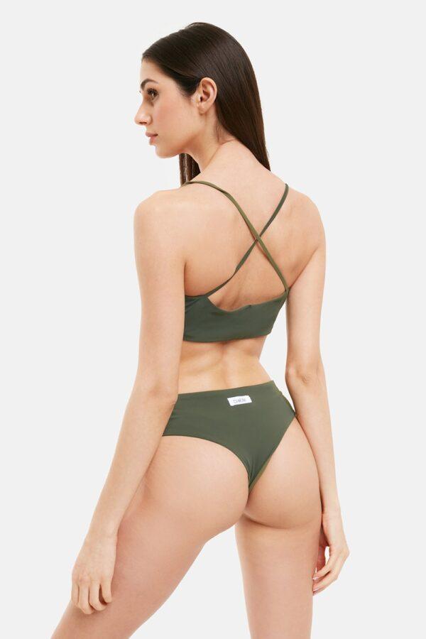 Costume Bikini Kate Bicolor Verde