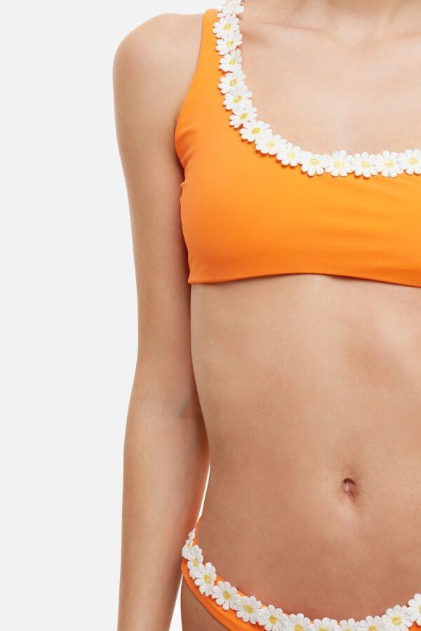 Costume Marghe Monospalla Bikini Arancione