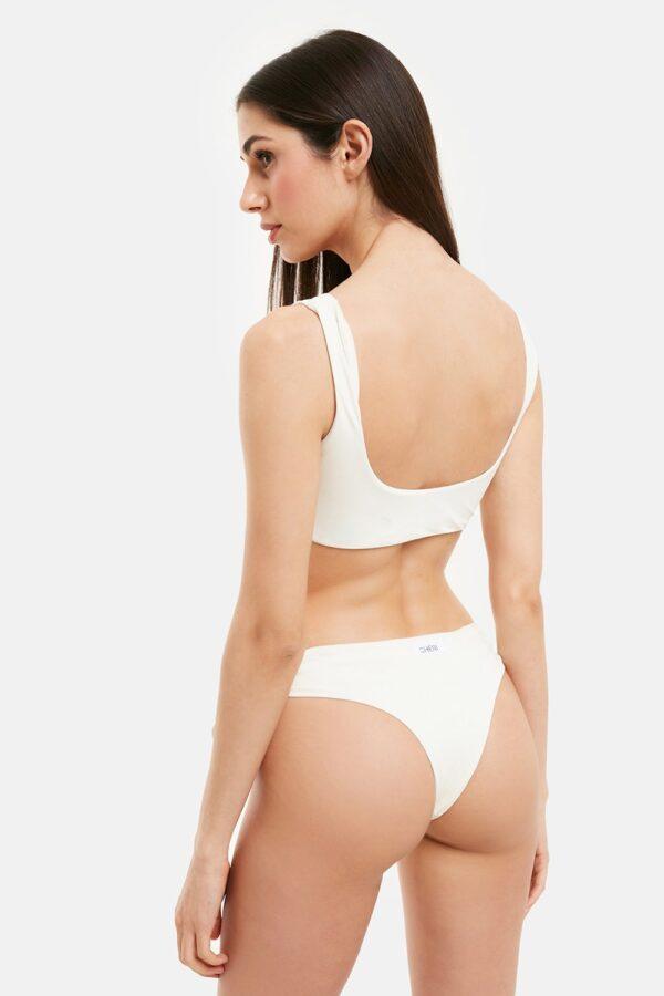 Costume Brigitte Bikini Bianco