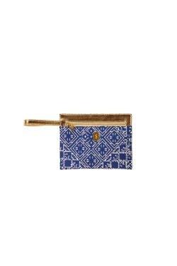 Pochette Brocard Blu