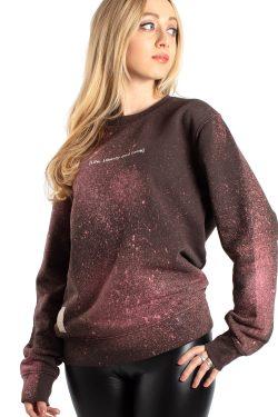 Felpa Star Dust Brown