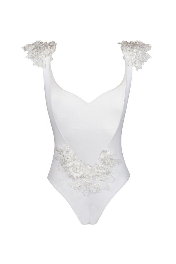 costume intero Reìna bianco